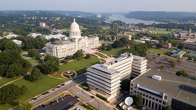 Arkansas capital building